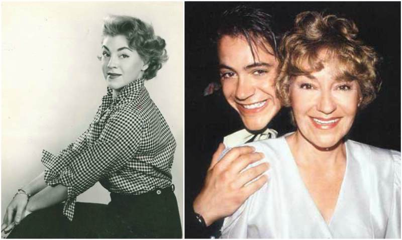 Robert Downey Jr. family - mother Elsie Ann Ford