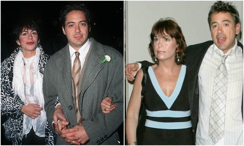 Robert Downey Jr. siblings - sister Allyson Downey