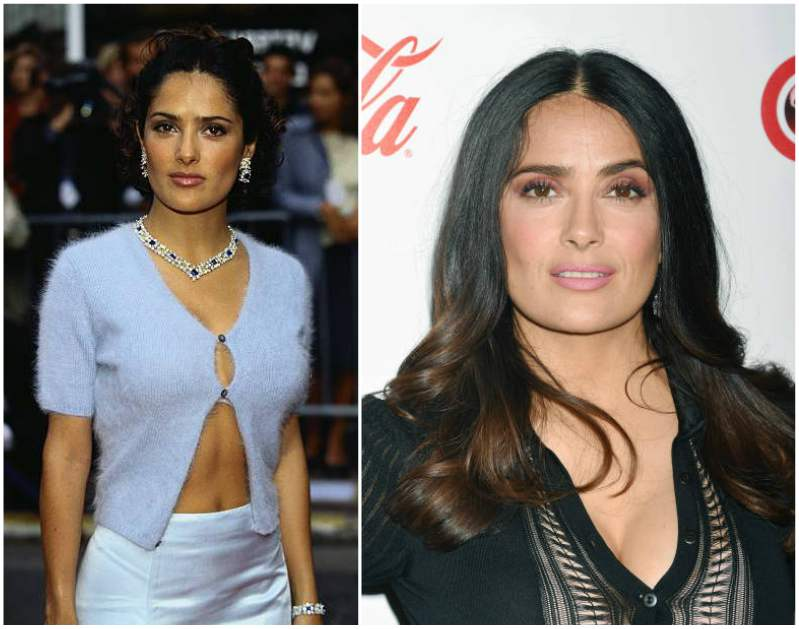 The world's famous celebrity diabetics - Salma Hayek
