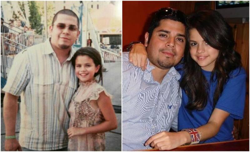Selena Gomez's family - father Ricardo Joel Gomez