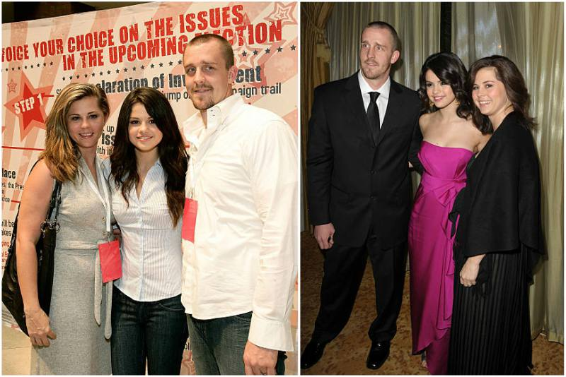 Selena Gomez's family - step-father Brian Teefey