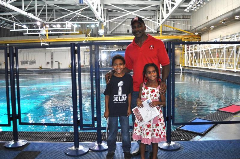 Evander Holyfield's children - son Eli Ethan Holyfield and daughter Eve Elizabeth Holyfield