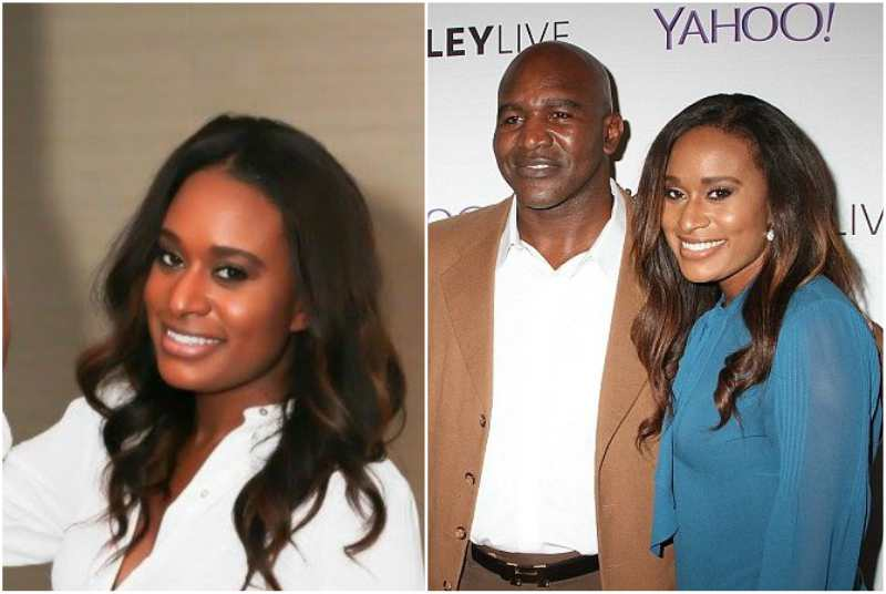 Evander Holyfield's children - daughter Evette Holyfield