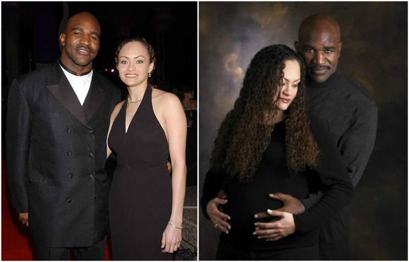 Evander Holyfield's family - ex-wife Candi Calvana Smith