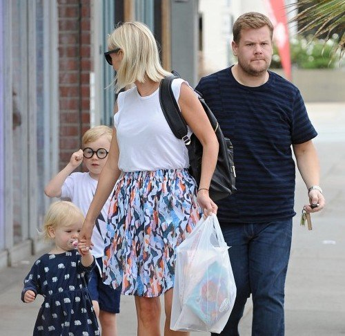 James Corden's children - daughter Carey Corden