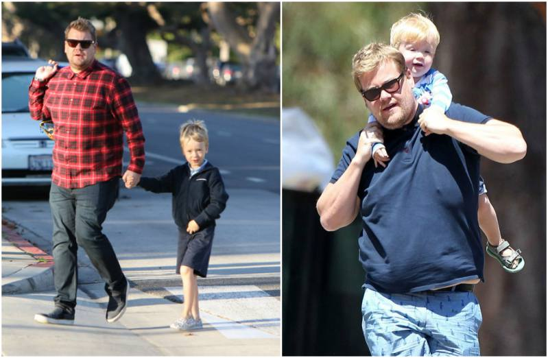 James Corden's children - son Max Corden