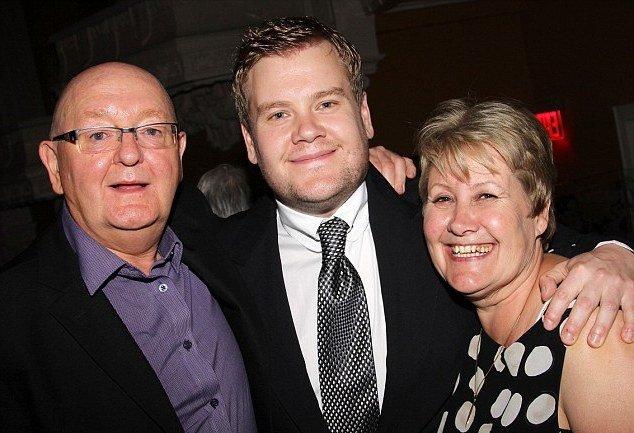 James Corden's family - parents