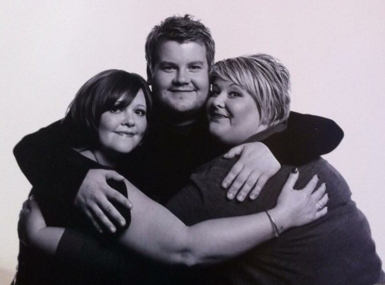 James Corden's siblings