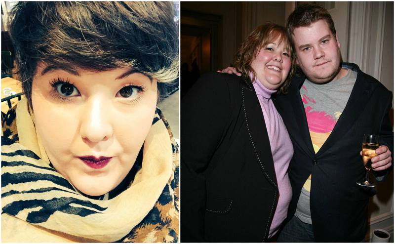James Corden's siblings - sister Ruth Corden