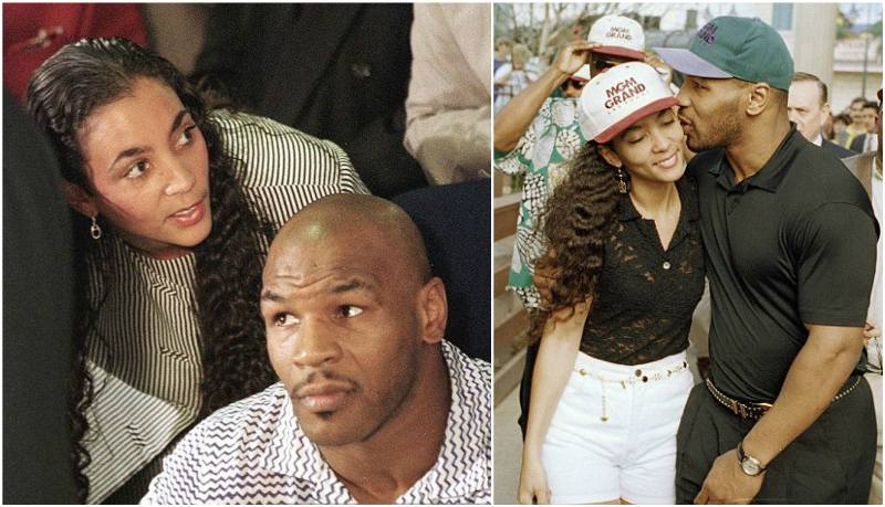 Mike Tyson's family - ex-wife Monica Turner