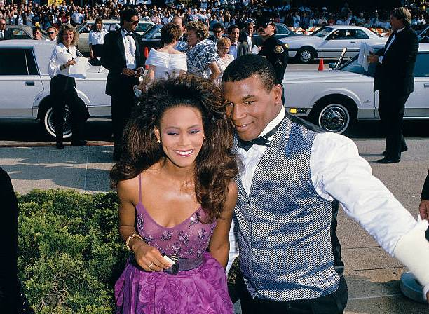 Mike Tyson's family - ex-wife Robin Givens