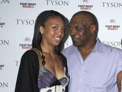 Mike Tyson's children - step daughter Gena Turner