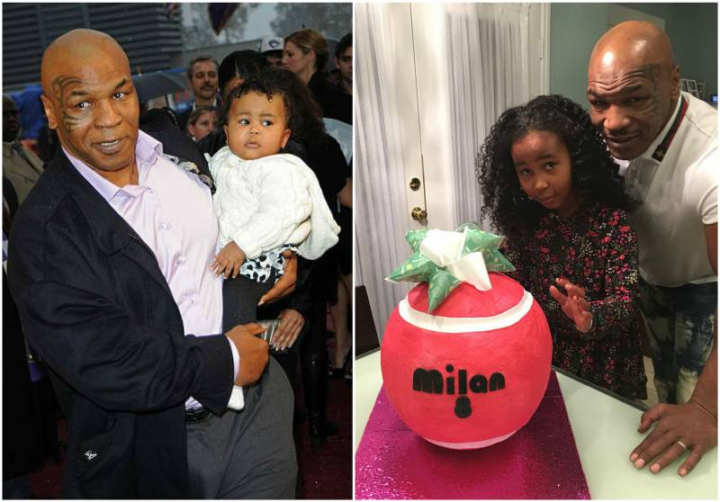 Mike Tyson's children - daughter Milan Tyson
