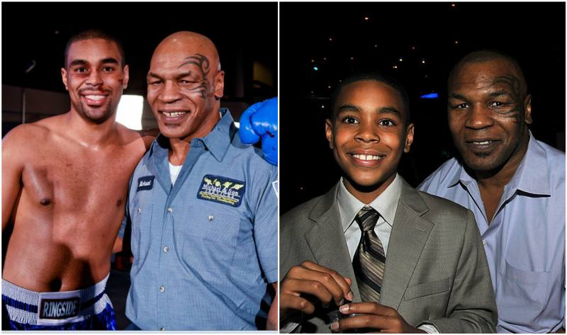 Mike Tyson's children - son Amir Tyson
