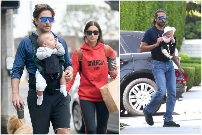 Bradley Cooper and Irina Shayk's children - daughter Lea De Seine Shayk Cooper