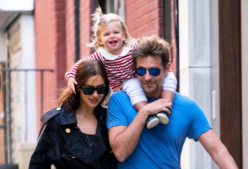 Bradley Cooper and Irina Shayk's children - daughter Lea De Seine Shayk Cooper
