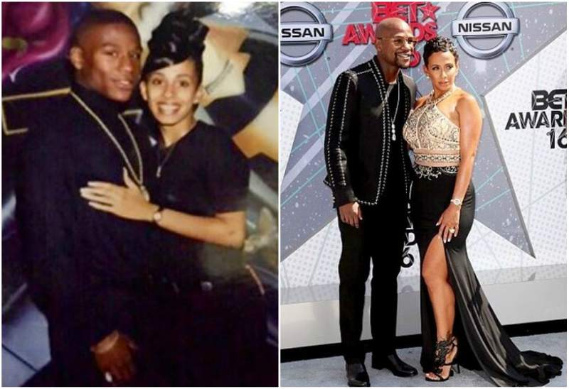 Floyd Mayweather Jr. family - ex-girlfriend Melissa Brim