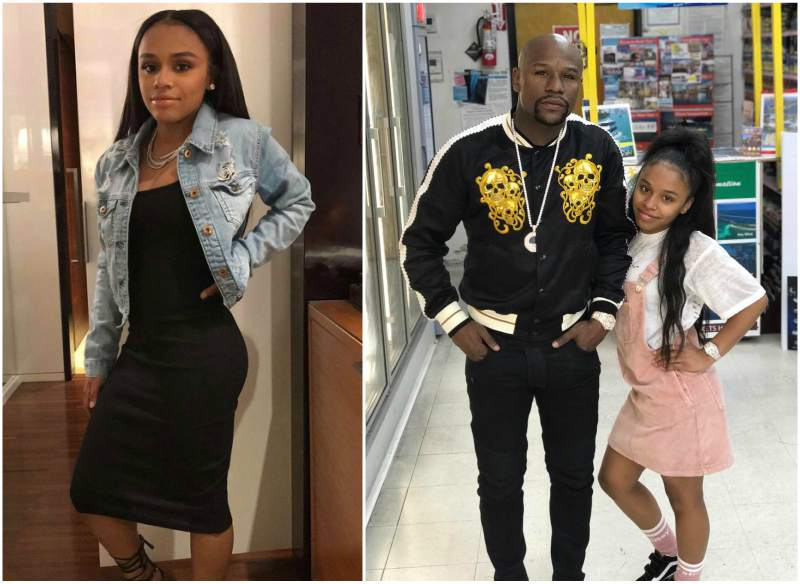 Floyd Mayweather Jr. children - daughter Iyanna Mayweather