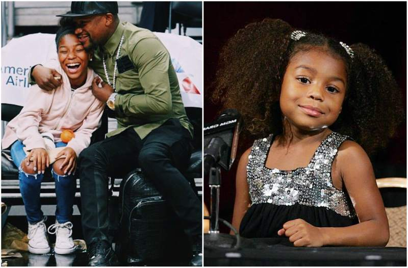 Floyd Mayweather Jr. children - daughter Jirah Mayweather