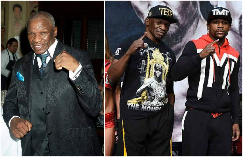 Floyd Mayweather Jr. family - father Floyd Mayweather Sr.