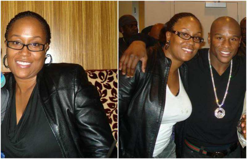 Floyd Mayweather Jr. siblings - sister Deltricia Tawanna Howard