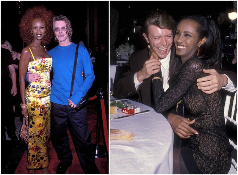 Iman Abdulmajid's family - husband David Bowie