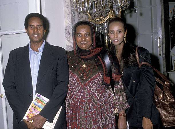 Iman Abdulmajid's family - parents