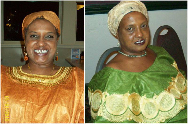 Iman Abdulmajid's siblings - sister Nadia Abdulmajid