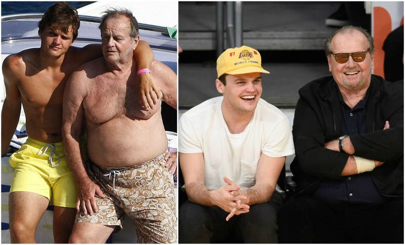 Jack Nicholson's children - son Raymond 'Ray' Nicholson