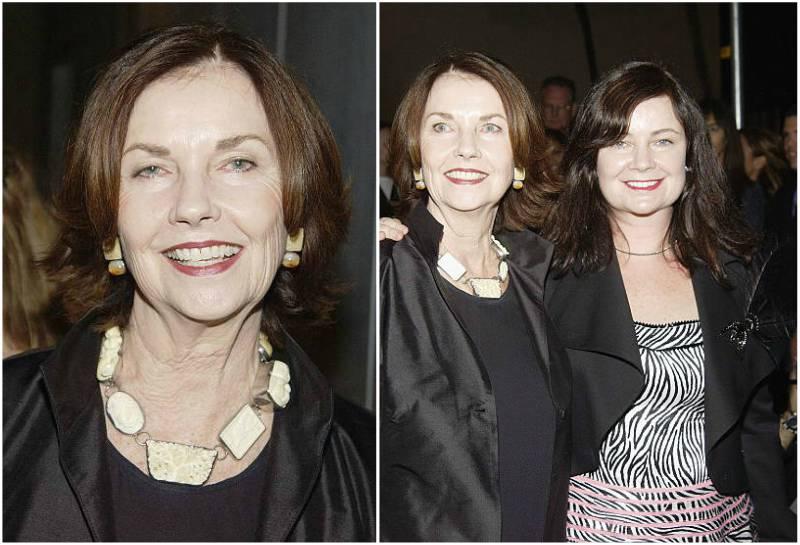 Jack Nicholson's family - ex-wife Sandra Knight