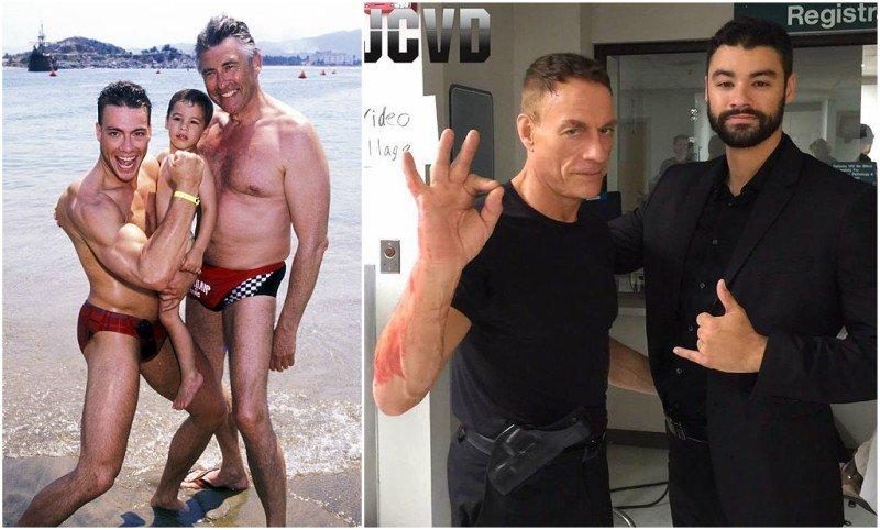 Jean-Claude Van Damme's children - son Kristopher Van Varenberg