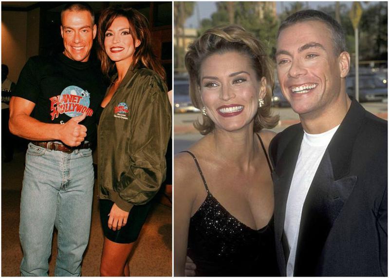 Jean-Claude Van Damme's family - ex-wife Darcy LaPier