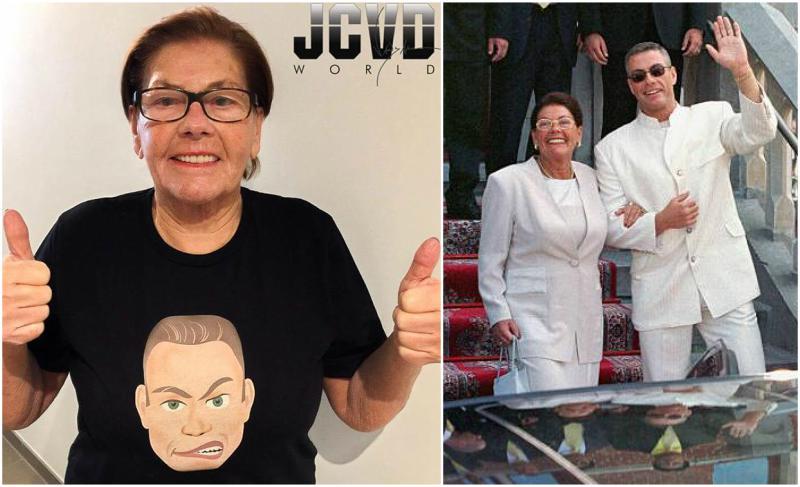 Jean-Claude Van Damme's family - mother Eliana Van Varenbergh