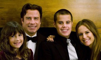 John Travolta's family: wife and kids