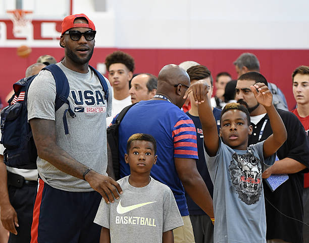 5c60f0f1217 What you need to know about NBA King LeBron James and his adorable family