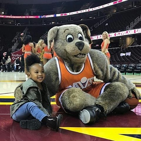 LeBron James' children - daughter Zhuri James