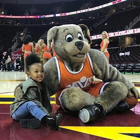 LeBron James' children - daughter Zhuri James