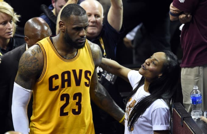 What you need to know about NBA King LeBron James and his adorable family