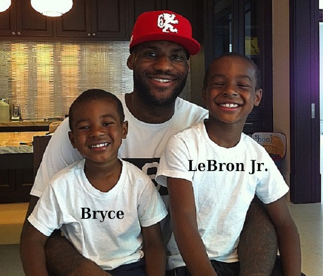 what you need to know about nba king lebron james and his adorable