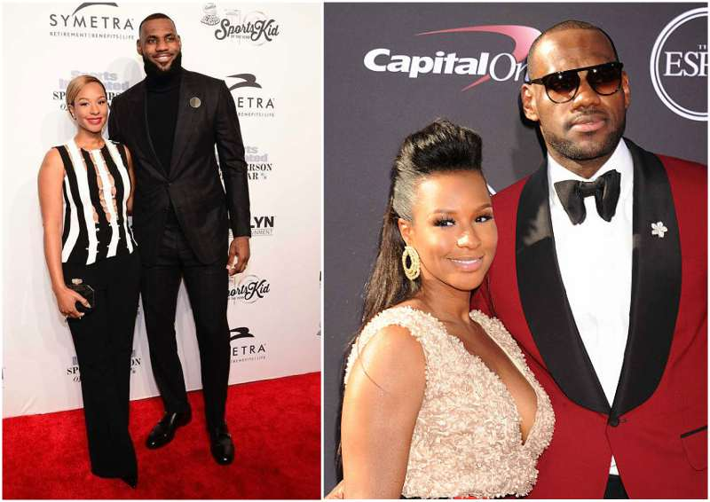 LeBron James' family - wife Savannah Brinson
