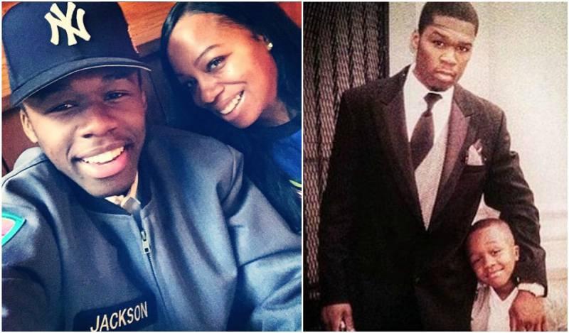 50 Cent's children - son Marquise Jackson Tompkins