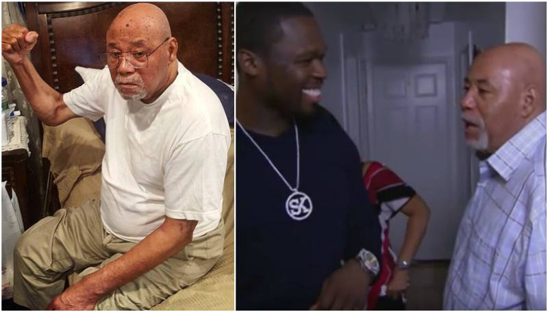 50 Cent's family - grandfather Curtis Jackson II