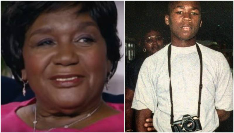 50 Cent's family - grandmother Beulah Jackson