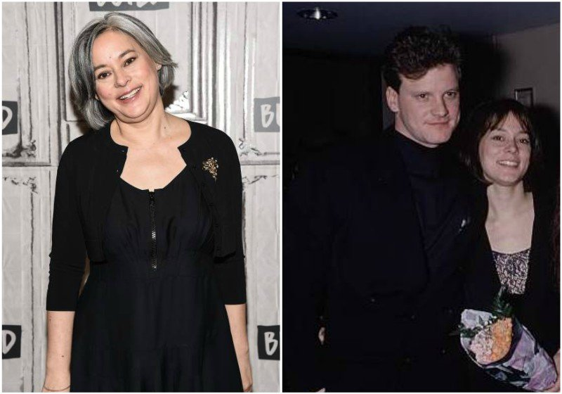 Colin Firth's family - ex-girlfriend Meg Tilly