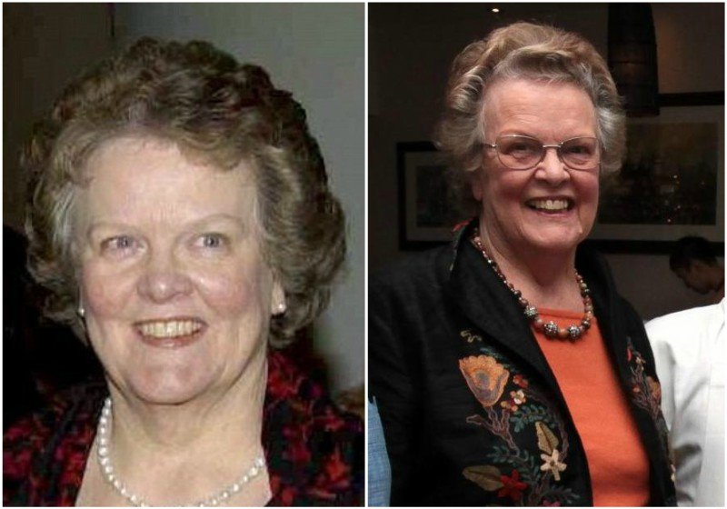Colin Firth's family - mother Shirley Jean Firth