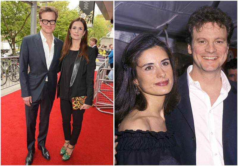 Colin Firth's family - wife Livia Giuggioli
