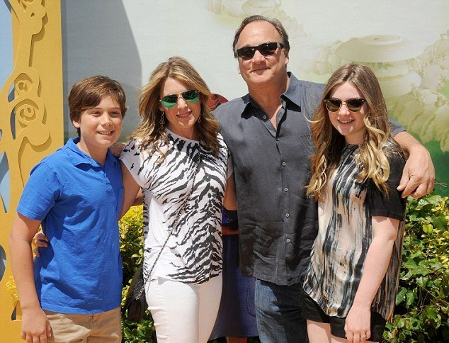 James Belushi's family