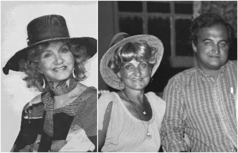 James Belushi's family - mother Agnes Demetri Samaras
