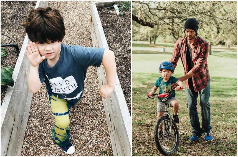 Jared Padalecki's children - son Thomas Colton Padalecki