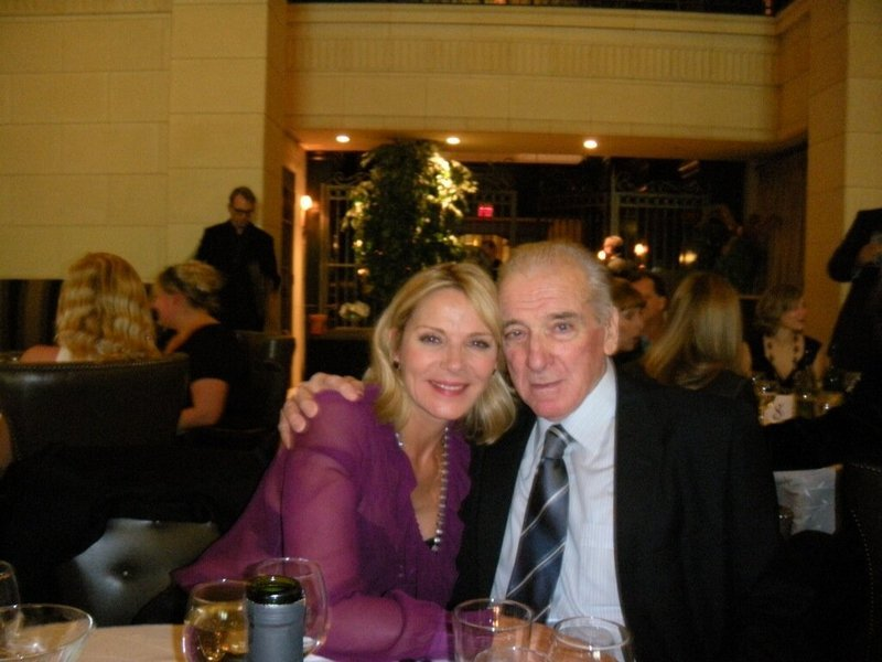 Kim Cattrall's family - father Dennis Cattrall